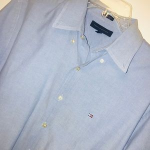 NWOT Tommy Hilfiger Dress Shirt SzL